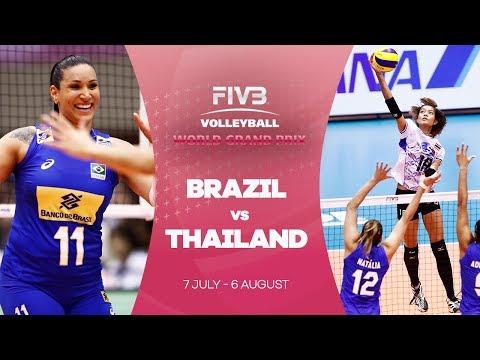 Brazil v Thailand highlights - FIVB World Grand Prix