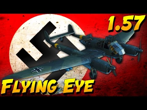 War Thunder Gameplay - Fw 189 Uhu Scout Plane (War Thunder 1.57)