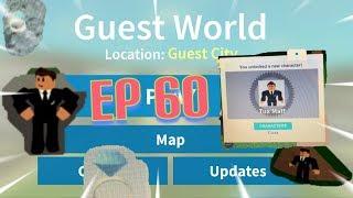 """Roblox- """"Guest World!"""" {Episode 60} How To Get Tux Matt!!!"""