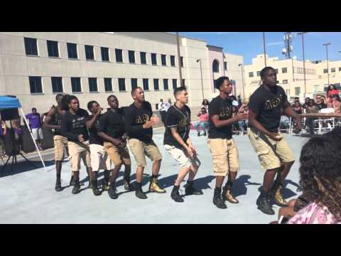 2016 Back That Aztec  Stroll Competition: Alpha Phi Alpha