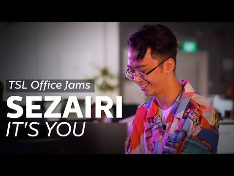 TSL Office Jams | Sezairi - It's You (A Love song For His Wife!)