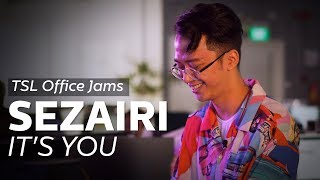 Download Lagu TSL Office Jams | Sezairi - It's You (A Love song For His Wife!) Mp3