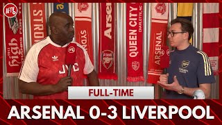 Arsenal 0-3 Liverpool | We Were Crap From Minute One! (James)