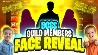 BOSS guild players FACE REVEAL 🤯❤️