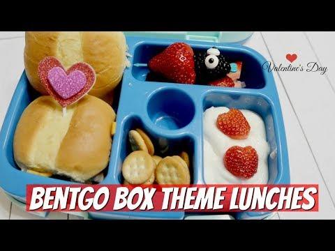 BENTGO BOX LUNCHES - VALENTINE'S DAY THEME