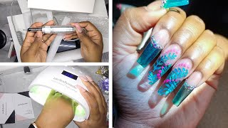 DIY Testing a Nail Drill and Nail Lamp from Amazon Prime