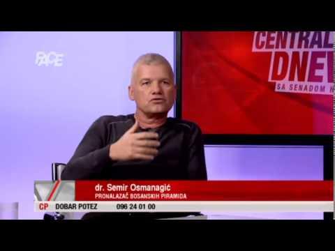 Semir Osmanagić u CD-u: 'Ljudi u piramidama eksperimentišu i liječe se.'