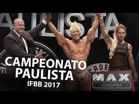Max Coaching - Campeonato Paulista IFBB - Japa Morfo