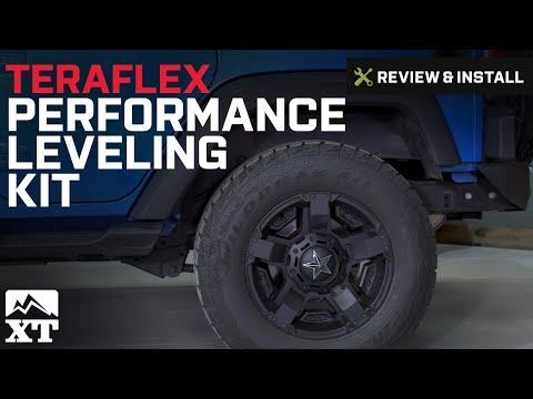 """Crown Suspension 2007-2017 JK Wrangler 3/"""" Rear Coils Springs Level Lift Kit"""