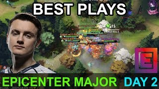 EPICENTER Major BEST PLAYS DAY 2 Highlights Dota 2 Time 2 Dota #dota2 #epicenter #epicgg