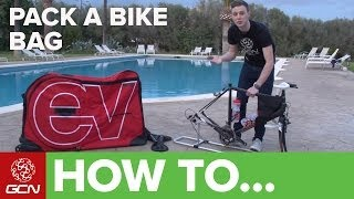 How To Pack A Bike Bag
