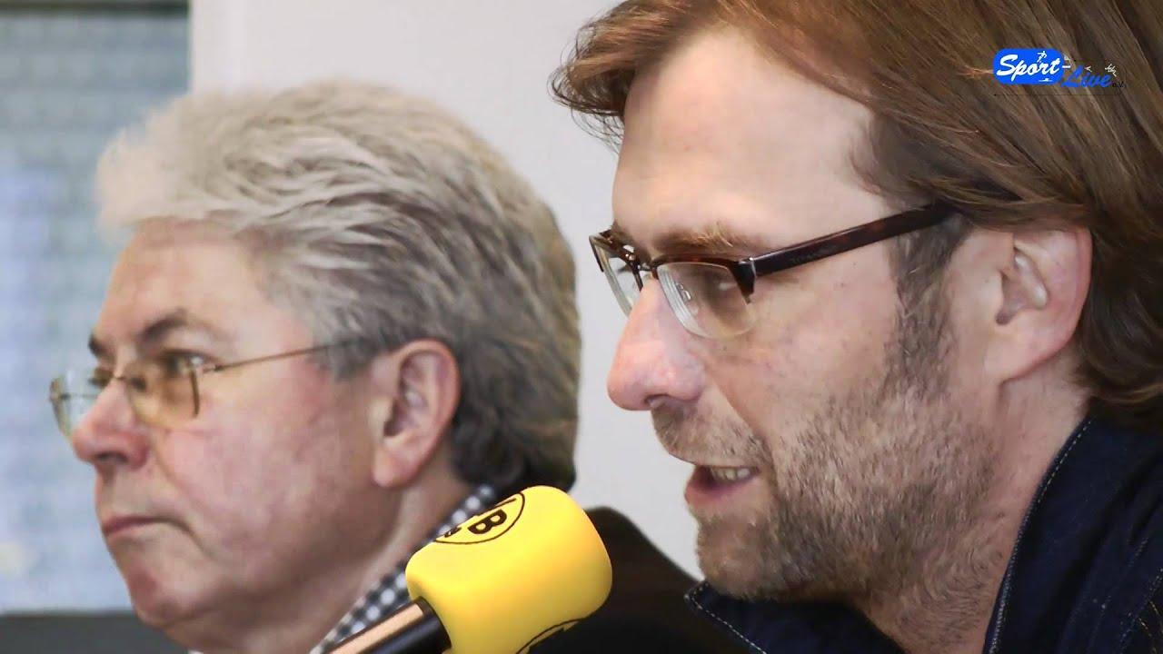 SpVgg Greuther Fürth - Borussia Dortmund : Die Pressekonferenz mit Jürgen Klopp (Teil 1)