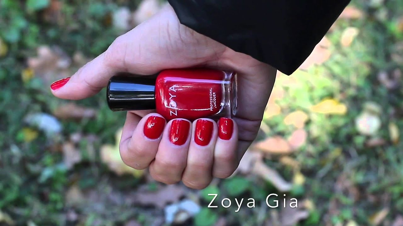 Обзор лак Zoya Rue, Naturel collection, swatch - YouTube