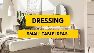75+ Awesome Small Space Dressing Table Ideas