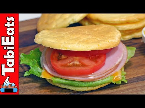 Download Youtube: How to Make CLOUD BREAD SANDWICH (Gluten-Free/Low Carb Recipe)