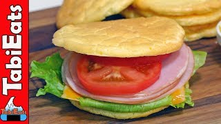 How to Make CLOUD BREAD SANDWICH (Gluten-Free/Low Carb Recipe)