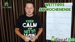 Fußball Wett Tipps Kombiwette für das Wochenende 22.02.2020 - King of Bets #Sportwetten