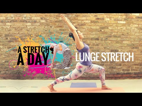 A Stretch A Day with VeraFlow™ Standing Lunge Stretch Day 10