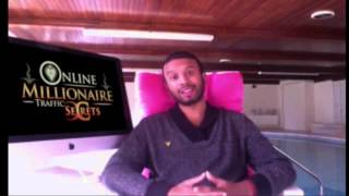Saj P Online Millionaire Traffic Secrets - Free Webinar To Making Money Online !