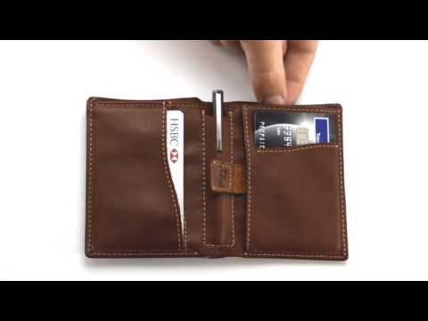 35ebad646350 Travel Wallet RFID Blocking Bifold Slim Genuine Leather Thin Minimalist  Front Pocket Wallets for Men Money Clip - Made From Full Grain Leather ...