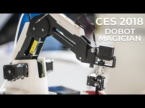 CES 2018 – Dobot Magician Robotic Arm at the Consumer Electronics Show