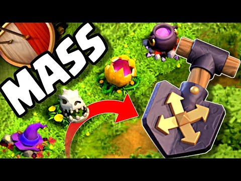 HOW To Use The Shovel Of Obstacles Properly | Halloween Obstacle Order | Clash Of Clans