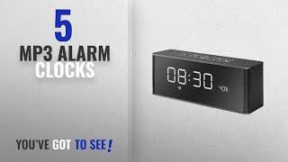 Top 10 Mp3 Alarm Clocks [2018 ]: Ravio Mini 10W Wireless Sterero Bluetooth Speaker With Alarm Clock
