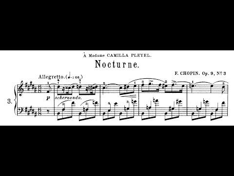 Chopin: Nocturne Op.9 No.3 in B Major (Moravec)
