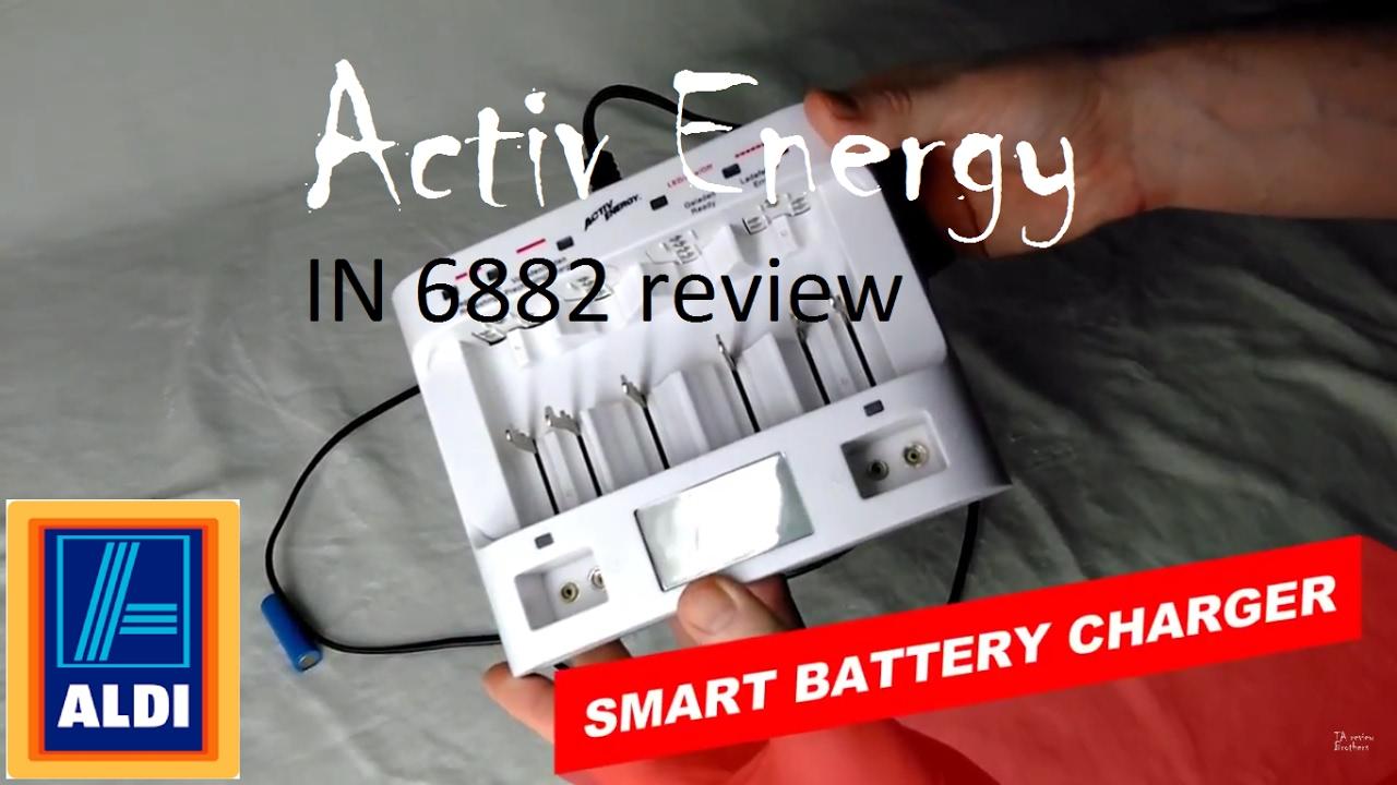 activ energy aldi smart battery charger test in depth. Black Bedroom Furniture Sets. Home Design Ideas