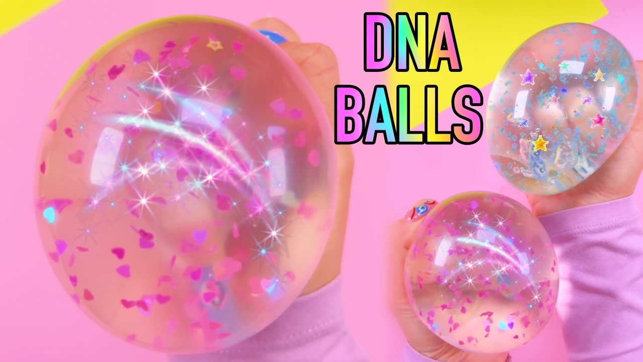 DIY FIDGET TOYS - TESTED BIG DNA STRESS BALLS IDEA - FAIL? - BALLOON FIDGET TOYS