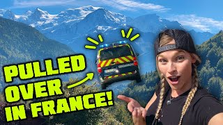 WE GET PULLED OVER BY POLICE IN FRANCE!