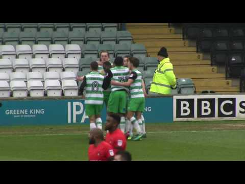 HIGHLIGHTS: YEOVIL TOWN 1-1 LEYTON ORIENT