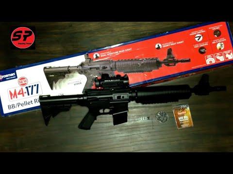 Rifle Crosman M4-177 en Español