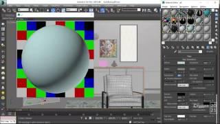 Как легко, и очень быстро создать дизайн комнаты в 3Дмакс?