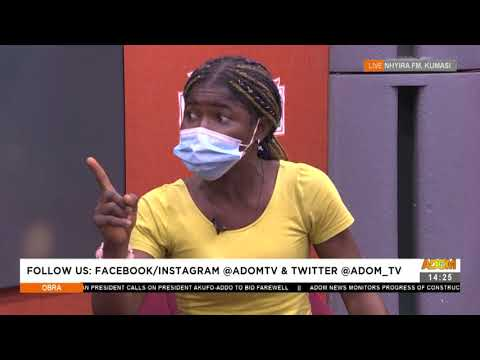 Before I allow you access to my child, you must pay - Woman tells man - Obra on Adom TV (4-8-21)
