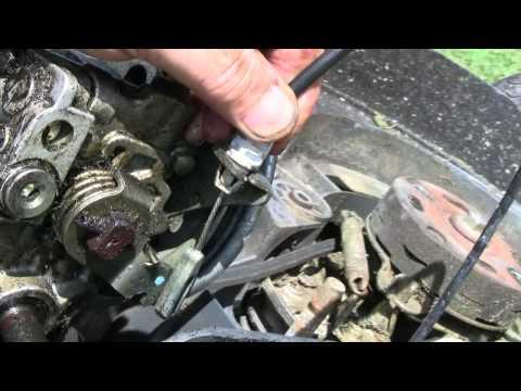 Replacing Honda Mower transmission HXEA/HMEA/HRX537/(Harmony USA)