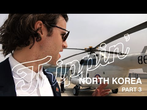 Military Helicopters over North Korea (M17 Soviet made Chopper!) TRIPPIN'