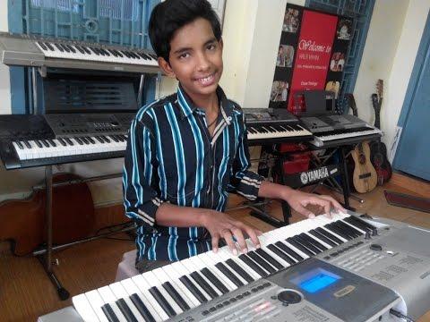 Pachha Bottesina Or Panchhi Bole Song From Baahubali On Keyboard By Swaroop
