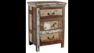 Shabby Chic Bedside Tables Ideas