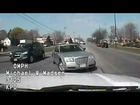 DASHCAM: 100+ MPH HIGH-SPEED CHASE IN KENOSHA AND RACINE COUNTIES IN WISCONSIN MAY 2, 2015