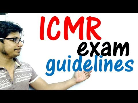 ICMR JRF preparation guidelines | eligibility and exam pattern