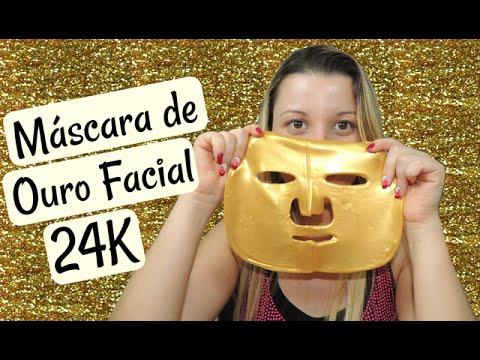 Testando: Máscara de Ouro Facial 24K - Jequiti