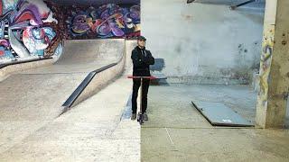 Скейт парк СПУСТЯ ГОД Spark