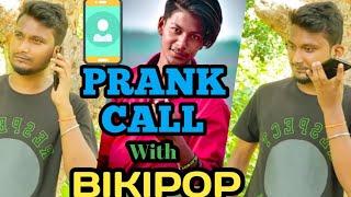 #odiaprankcall // Prank Call  With Tiktok Star Bikipop // Odia Prank Call //mr Devinlucky //