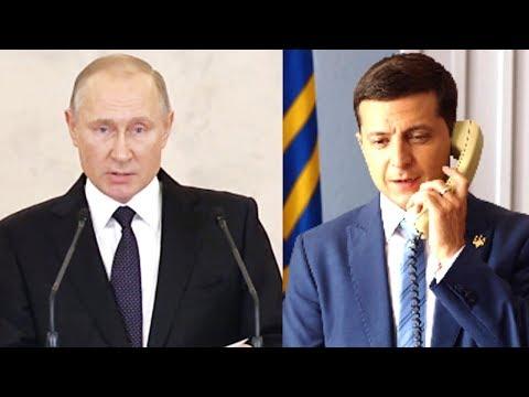 Обмен пленными - первый этап диалога Путин - Зеленский