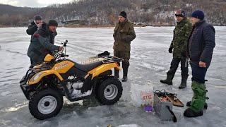 Двухдневная зимняя рыбалка 2021 на Оскольском водохранилище Лещи в улове
