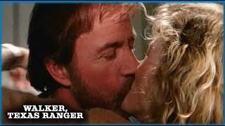 Walker And Alex's First Kiss | Walker, Texas Ranger