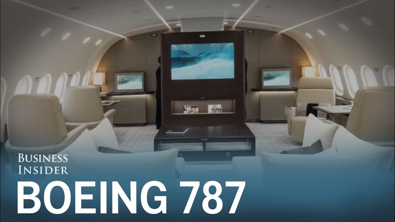 This 300 Million Boeing 787 Is Unlike Any Private Jet You