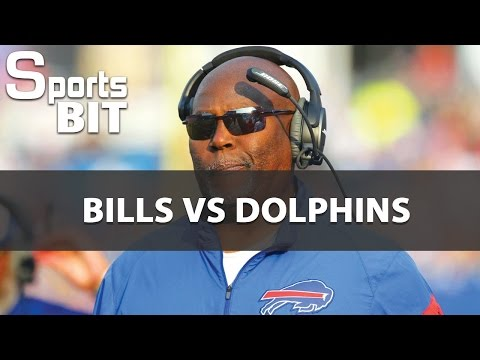 Sports BIT | Bills vs Dolphin Betting Preview | The post-Greg Roman Era Continues