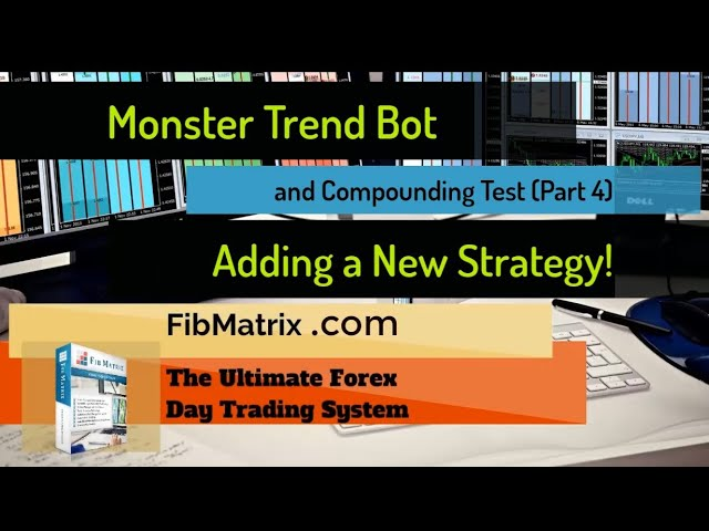PART 4 – ADDITIONAL Monster Trend Trade  Automated Forex Strategy goes to Compounding Account